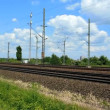 Stock Video: Cologne - circjune 2013 - Passing by commuter train