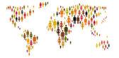 Mensen over de hele wereld — Stockfoto