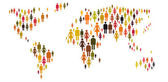 People around the world — Stock Photo