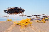 Beach early morning — Stock Photo