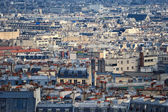 Parisian rooftops — Stock Photo