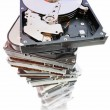 Stock Photo: Fixed disks