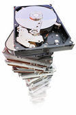 Fixed disks — Stockfoto