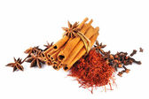 Anise and Cinnamon — Stock Photo