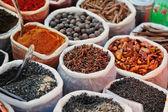 Sacks of Spice — Stock Photo