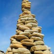 Stone Pyramid — Stock Photo #24969693