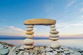 Oblong Stone — Stock Photo