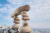 Zen Equilibrium — Stock Photo