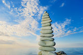 Oblong Stones — Stock Photo