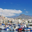 Harbor in Los Cristianos — Stock Photo
