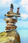 Sea boulder — Stock Photo