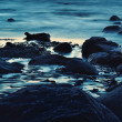 Stock Photo: Blue Boulders