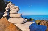 Compound of stones — Stock Photo