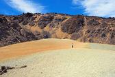 火山の砂漠 — ストック写真