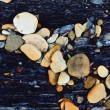 Rocks and pebbles — Stock Photo