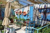 Sea old bar — Stock Photo
