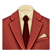 Man's suits for business background — Wektor stockowy