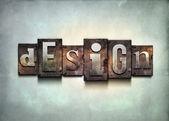 Design letterpress. — Stock Photo