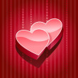 Royalty-Free Stock Vector Image: 3d heart