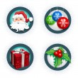Christmas icon set — Stock Vector #22812644