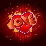 Love! — Stock Vector