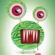 Monster thing. - Stock Vector