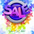 Summer sale — Stock Vector #22813842