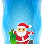 Santa1 — Stock Vector