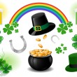 Royalty-Free Stock Vector Image: St. Patrick\'s Day design elements