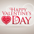 Valentine's Day Card — Vettoriale Stock  #22814328