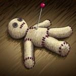 Voodoo doll — Stock Vector #22814372