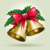 Christmas Bells. — Stock Vector