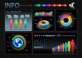 Infographics set. — Stock Vector