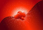 Love explosion — Stock Vector