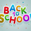 Back to School — Stock Vector #28553227
