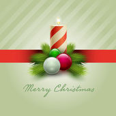 Kartka świąteczna — Wektor stockowy