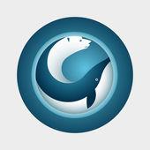 Arctic Symbol design — Stock Vector