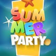 Summer Party Poster — Stock Vector #44036827