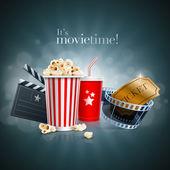 Movie concept — Stock Vector