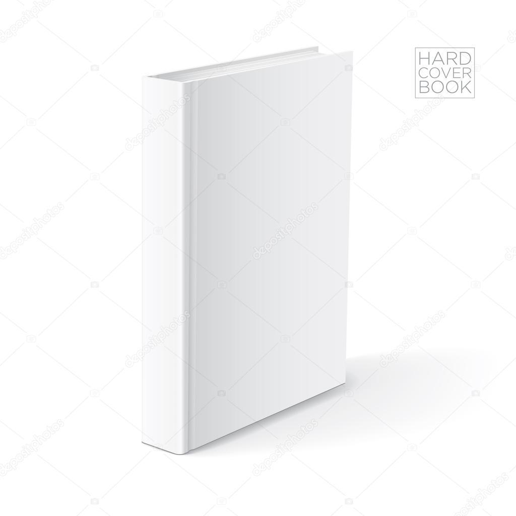 Hard Cover Book Template : Hard cover book template — stock vector sgursozlu