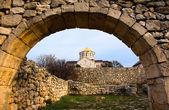 Chersonesos temple — Stock Photo