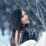 Fashion  woman in wintertime — Stock Photo #48455449