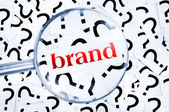 Brand word — Stock Photo