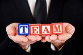 Team ord — Stock Photo
