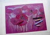 Pastel sketch — Stock Photo
