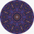 Violet mandala — Stock Photo