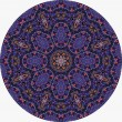 Violet mandala - Stock Photo