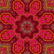 Indian style Pink pattern - Stock Photo