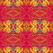 Roze en geel patroon — Stockfoto