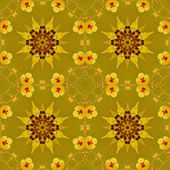 Floral pattern - painting texture. — Stock Photo
